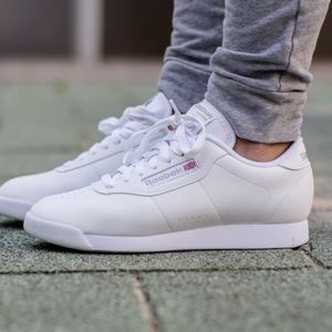 Reebok Classics White Princess Lace-Up Sneakers